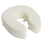 Vinyl Cushioned Raised Toilet Seat 4 Inch