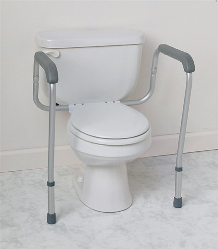 Medline Toilet Safety Frame 250 Lbs Weight Capacity