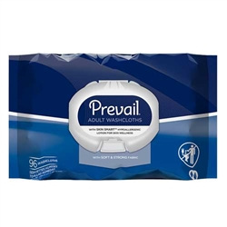 Prevail Adult Washcloths Soft Pack