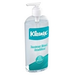 KLEENEX Instant Hand Sanitizer - 8 oz Pump Bottle - Case of 12