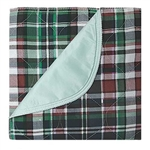 Plaid Reusable Bed Pad Underpads