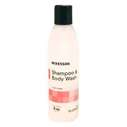 McKesson Shampoo and Body Wash Light Floral Scent