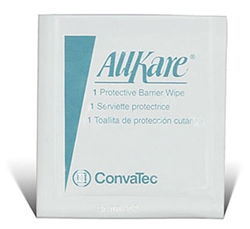 AllKare Skin Barrier Wipes Individual Packets Box of 50