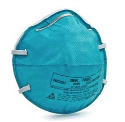 3M N95 Disposable Particulate Respirator and Surgical Mask - Small