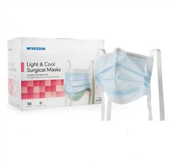 McKesson_Light_and_Cool_Surgical_Masks_with_Ties