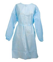 McKesson_Medi-Pak_Performance_Blue_Isolation_Gowns_Disposable
