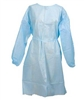 McKesson Fluid Resistant Blue Isolation Gowns