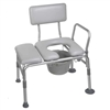 Combination Padded Transfer Bench Commode