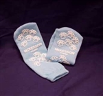 Medi-Pak Youth Sized Light Blue Slipper Socks