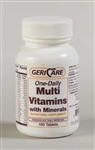 Geri Care One-Daily Multi-Vitamin with Minerals - Bottle of 100