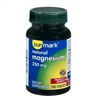 Sunmark Magnesium 250 mg Tablets Bottle of 100