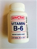 Geri Care Vitamin B6 50 mg Tablets - Bottle of 100