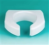 "Basic Open Front 3"" Elevated Toilet Seat 350 lbs Capacity"