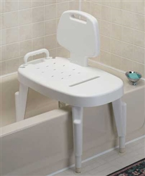 Adjustable Bath Transfer Bench 350 lbs Weight Capacity