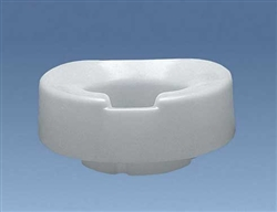 Contoured Tall-Ette 4 Inch Elevated Toilet Seat Elongated Bowl