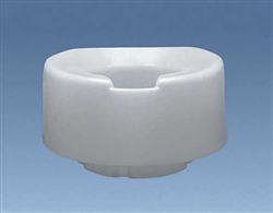 Contoured Tall-Ette 6 Inch Elevated Toilet Seat Elongated Bowl