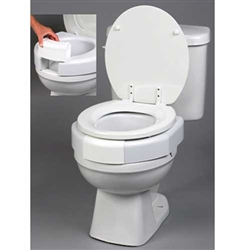 Secure-Bolt Elevated Toilet Seat Standard Bowl