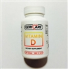 Geri Care Vitamin D 1000 IU Tablets Bottle of 100