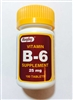 Rugby Vitamin B6 25 mg Tablets Bottle of 100