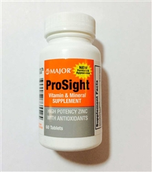 ProSight Vitamin & Mineral Supplement Tablets Bottle of 60