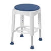 Drive Medical Rotating Round Shower Stool with Padded Seat