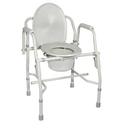 Drive Medical Deluxe Steel Drop Arm Commode