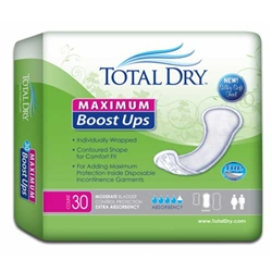 TotalDry Maximum Boost Ups Booster Pads