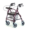 Lumex Walkabout Lite 4 Wheel Rollator with 6 Inch Casters by Graham Field