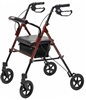 Lumex Set n Go Wide Rollator with 8 Inch Wheels by Graham Field