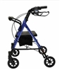 Lumex Set n Go Blue Rollator with 6 Inch Wheels by Graham Field