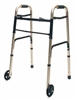 Lumex Everyday Wheeled Walker in Gold Color with 5 Inch Wheels by Graham Field.