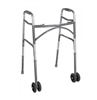 Bariatric Folding Wheeled Walker by McKesson