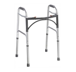 Deluxe Folding Walker by Drive Medical