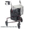 Deluxe 3 Wheel Rollator by Drive Medical