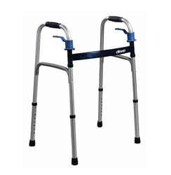 Deluxe Trigger Release Folding Walker by Drive Medical