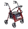 Duet Rollator Transport Chair Combo with 8 inch Casters by Drive Medical