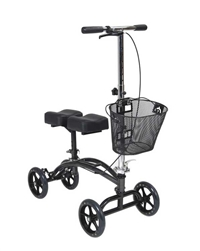 Steerable Knee Walker Steel Frame with 8 Inch Casters by Drive Medical