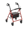 Rollator with 6 Inch Wheels by Drive Medical