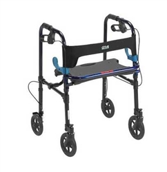 Clever-Lite Wheeled Walker with 8 Inch Casters from Drive Medical
