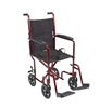 Aluminum Transport Chair Wheelchair by Drive Medical