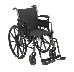 Cruiser III Lightweight Wheelchair by Drive Medical