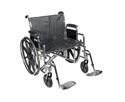 Sentra EC Heavy Duty Bariatric Wheelchair by Drive Medical