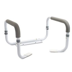 Toilet Safety Rail aluminum framed