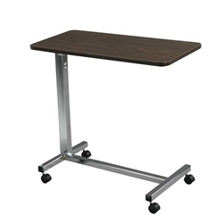 Drive Medical Overbed Table Chrome Base