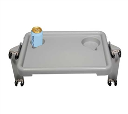 Walker Tray with Cup Holders