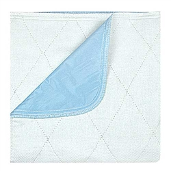 Beck's Reusable Waterproof Bed Pad Underpads Blue