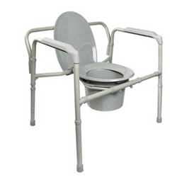 McKesson Bariatric Folding Commode