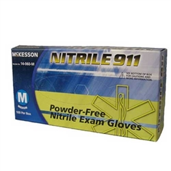 Nitrile 911 Purple Exam Gloves