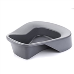 McKesson Pontoon Plastic Bedpan Graphite Colored