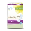 Front side of package of TENA Intimates Maximum Bladder Control Pads